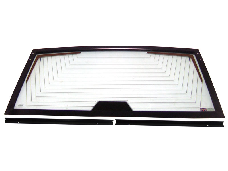 Range Rover Classic Upper Tailgate Assembled Frame with Glass